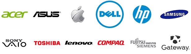لوگوی تمام لپ تاپ ها